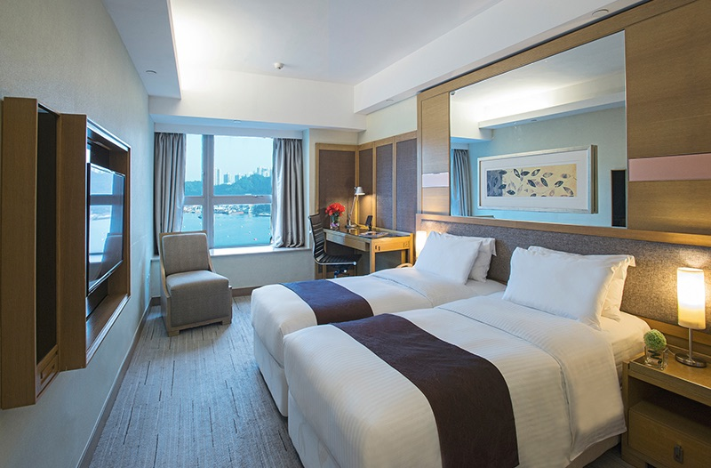 荃灣帝景酒店363呎標準酒店客房月租11,800元起