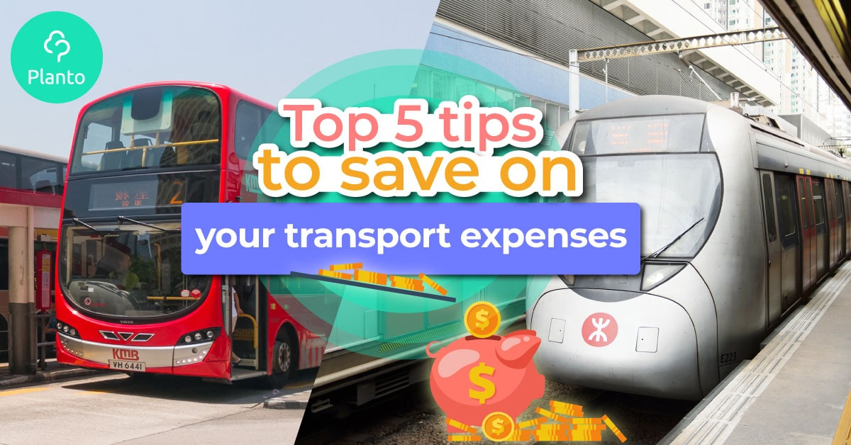 [2019 Saving Tips] Top 5 tips to save on your transport expenses