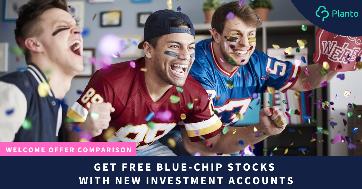 Welcome Offer Comparison: Get Free Blue-Chip Stocks With New Investment Accounts