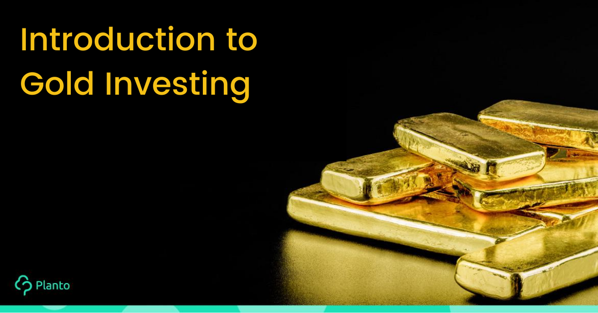 Investing in gold, gold ETF and paper gold: Pro, con and low barrier to entry alternatives